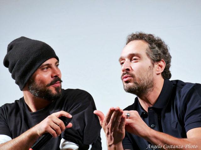 Marco D'Amore e Claudio Santamaria