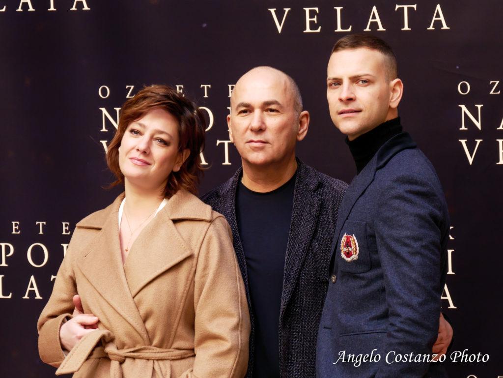 Photocall Napoli Velata Di Ferzan Ozpetek Con Giovanna Mezzogiorno E Alessandro Borghi Angelo Costanzo Photo