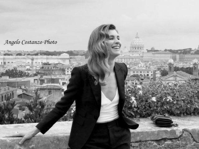 Vittoria Puccini ai Globi d'Oro 2018