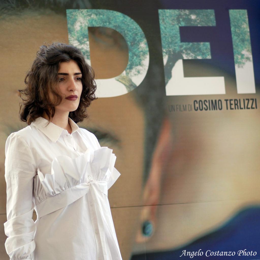 "Angela Curri photocall film ""dei"" - cosimo terlizzi, valeria golino"
