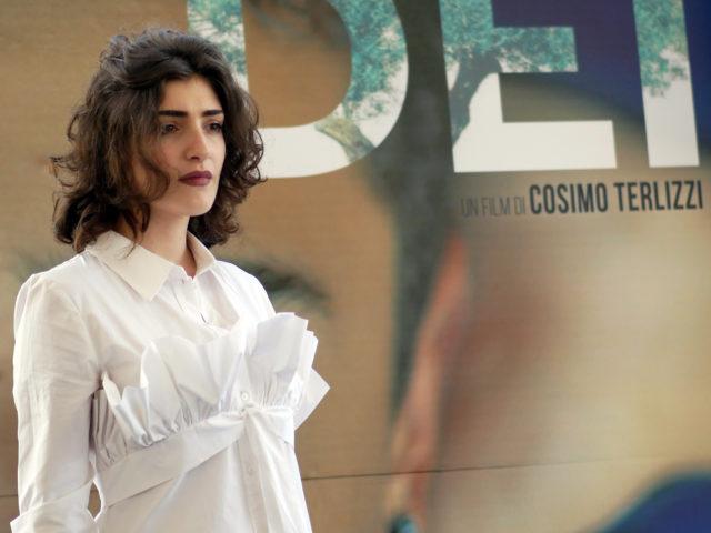 """Photocall film """"Dei"""" – Cosimo Terlizzi, Valeria Golino, Martina Catalfamo, Angela Curri, Luigi Catani, Andrea Arcangeli, Fausto Morciano"""