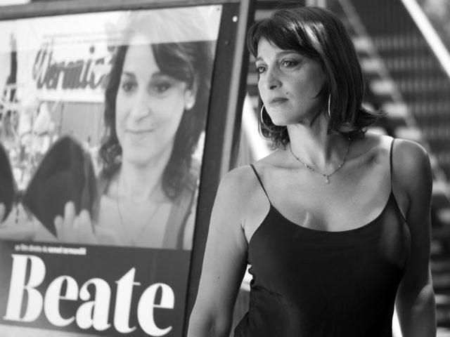 """Donatella Finocchiaro, photocall """"Beate"""" di Samad Zarmandili"""