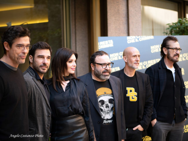 Photocall 'Non ci resta che il crimine' di Massimiliano Bruno